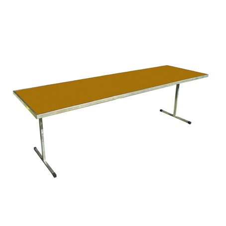 210cm wooden trestle table for hire
