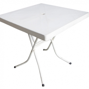 Table - 76cm Square WHITE