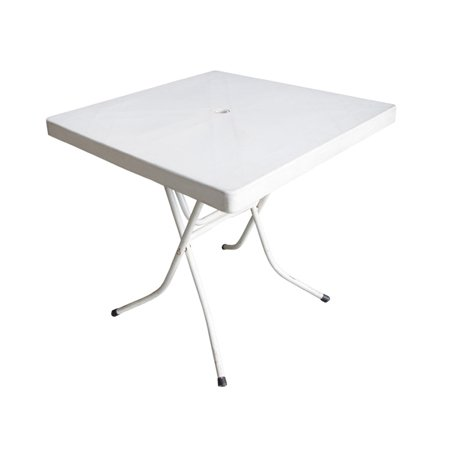 76cm square plastic table for hire sydney