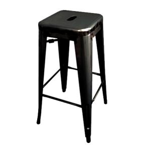BLACK TOLIX BAR STOOL