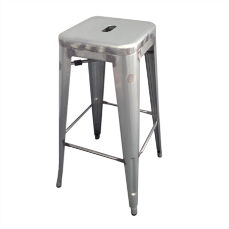 bar stool for hire tolix silver galvanised bar stool