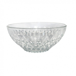 VINTAGE CUT GLASS DESSERT BOWL