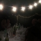 CLEAR FESTOON LIGHTS