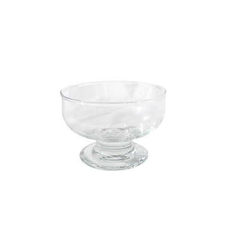 glass desert bowl for hire sydney northern beaches