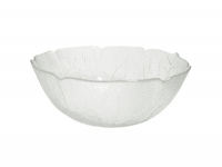 GLASS SALAD BOWL SMALL