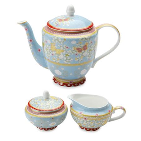 high tea teapot set for hire-blue sydney