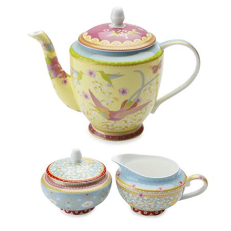 TEA SET - YELLOW