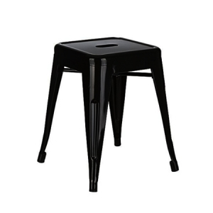 LOW TOLIX STOOL BLACK