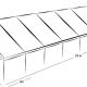 10m x 24m MARQUEE - WHITE ROOF