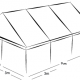 6m x 9m MARQUEE - WHITE ROOF