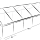 6m x 18m MARQUEE - CLEAR ROOF