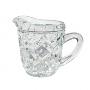 MINI CUT GLASS JUG