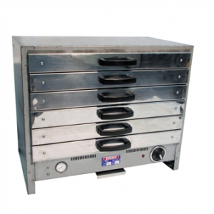 PIE WARMER 6 DRAWER