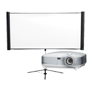 PROJECTOR AND SCREEN COMBO