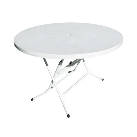 round plastic table for hire sydney 120cm