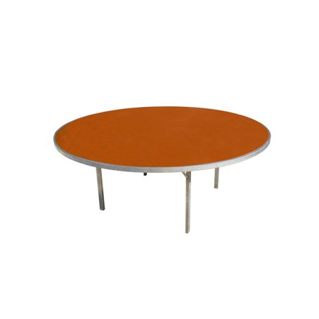 round wooden flatfold table for hire sydney 150