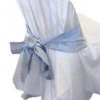 sliver chair sash for hire sydney wedding linen hire