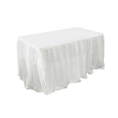 table skirt bridal flounce for hire sydney 3m