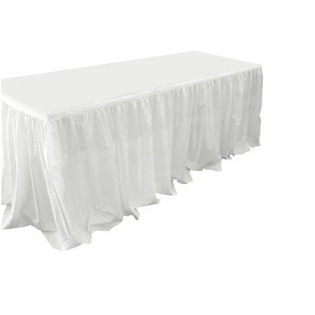 table skirt bridal flounce for hire sydney 5m