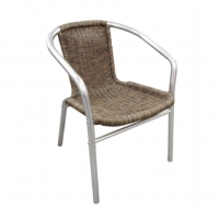 wicker rattan coffee cafe chair for hire sydney northern beaches north shore party hire