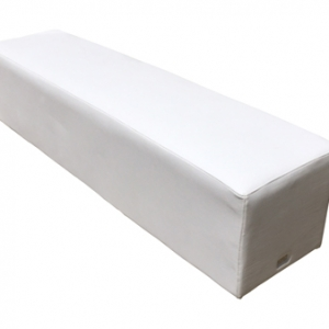 ottoman for hire white bench furniture for hire sydney northern beaches eastern suburbs