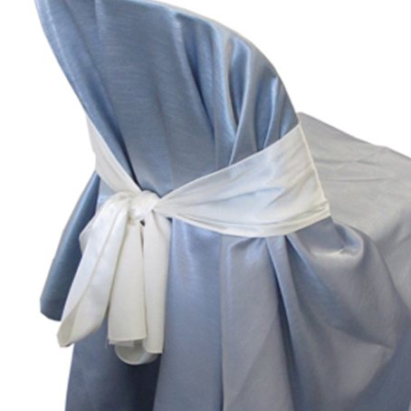 ivory chair sash for hire sydney wedding hire